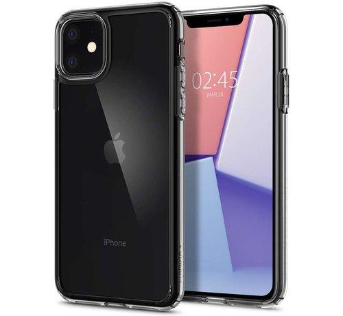 Spigen Spigen Crystal Hybrid iPhone 11 hoesje ( Transparant )