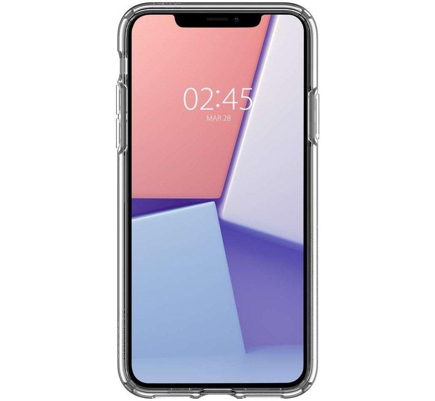 Spigen Crystal Hybrid iPhone 11 hoesje ( Transparant )