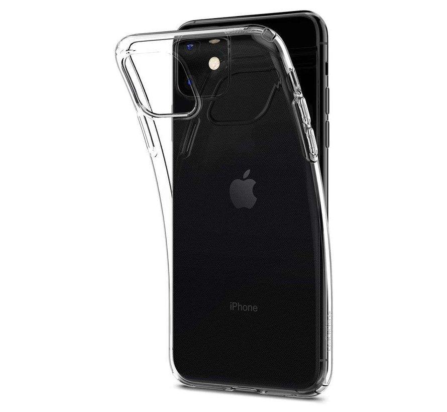 Spigen Liquid Crystal black iPhone 11 hoesje ( Crystal Zwart )