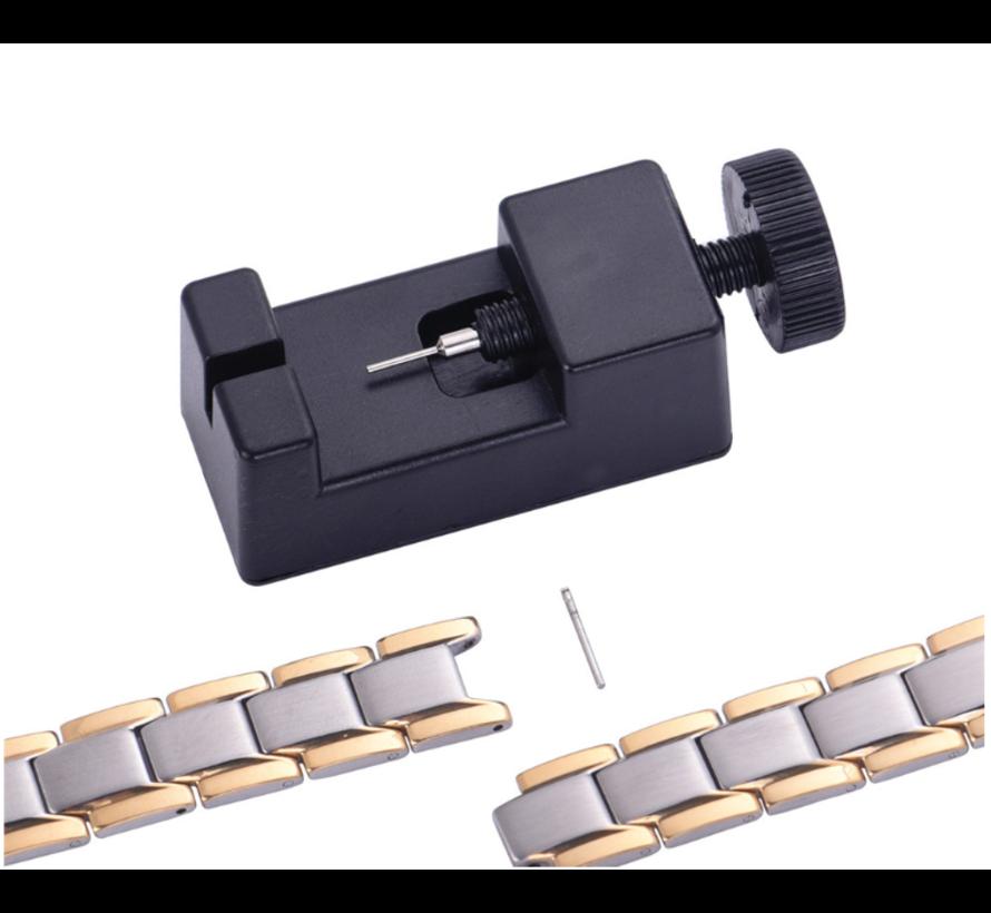 Horloge schakel pin toolkit (zwart)