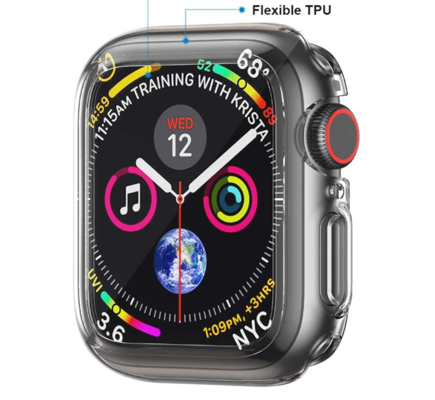 Apple Watch silicone case (transparant)