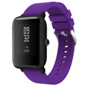 Xiaomi Amazfit Bip silicone band (paars)