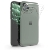 ShieldCase® Siliconen hoesje met camera bescherming iPhone 11 Pro Max (transparant)