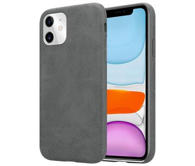 ShieldCase Shieldcase iPhone 11 hoesje leer (grijs)