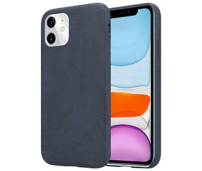 ShieldCase® Shieldcase iPhone 11 hoesje leer (zwart)
