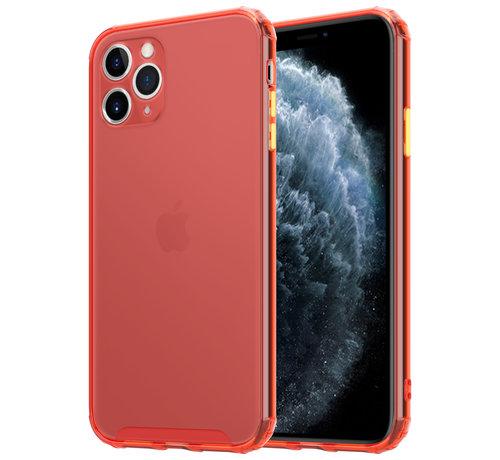 ShieldCase® ShieldCase gekleurde Shock case iPhone 11 Pro Max (rood)
