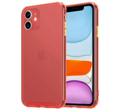 ShieldCase® ShieldCase gekleurde Shock case iPhone 11 (rood)