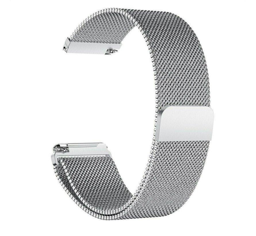 Garmin Vivoactive 3 Milanees bandje (zilver)