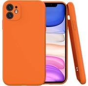 ShieldCase Siliconen hoesje met camera bescherming iPhone 11 Pro (oranje)