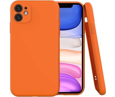 ShieldCase Shieldcase Siliconen hoesje met camera bescherming iPhone 11 Pro (oranje)