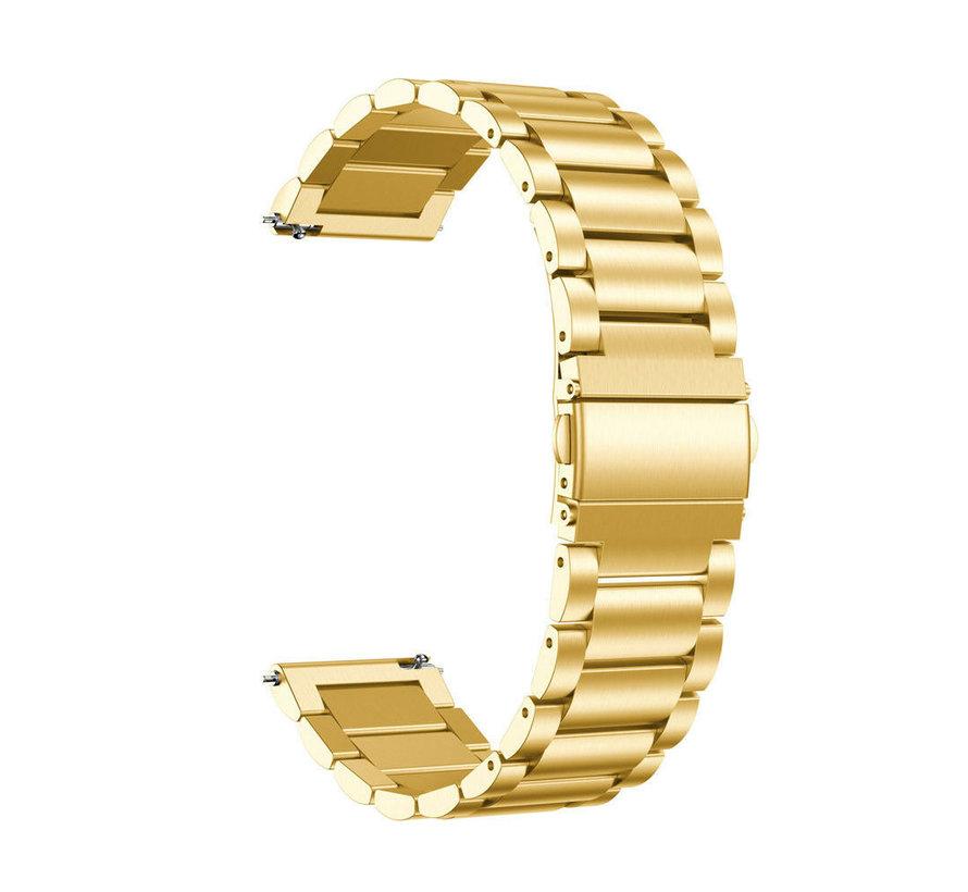 Garmin Vivoactive 3 stalen bandje (goud)