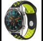 Huawei Watch GT sport bandje (zwart/geel)