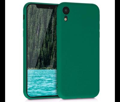 ShieldCase Shieldcase Siliconen hoesje met camera bescherming iPhone X / Xs (donkergroen)