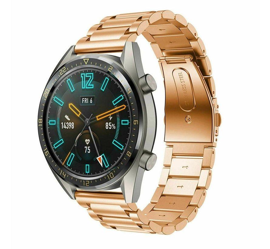 Huawei Watch GT stalen bandje (rosé goud)