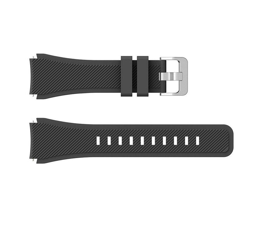 Huawei Watch GT silicone band (zwart)
