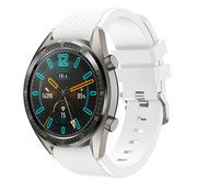 Huawei Watch GT silicone band (wit)