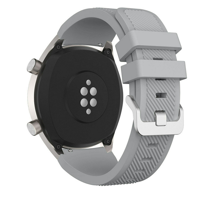 Huawei Watch GT silicone band (grijs)