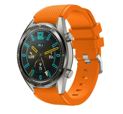 Huawei Watch GT silicone band (oranje)