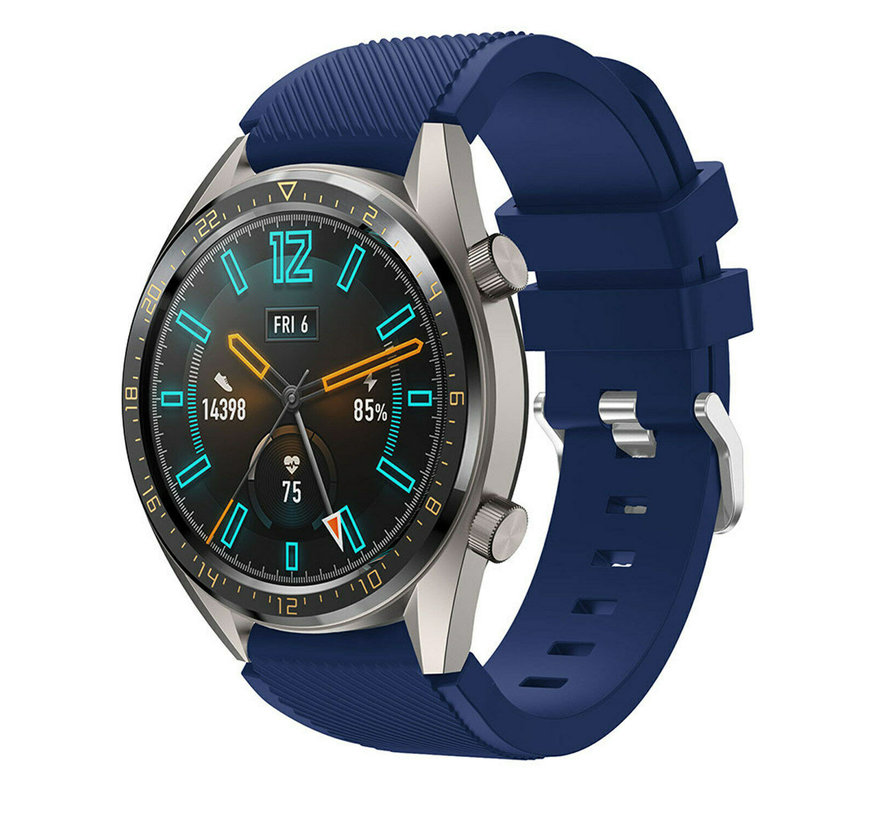 Huawei Watch GT silicone band (donkerblauw)