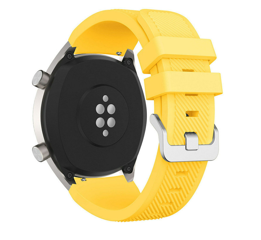 Huawei Watch GT silicone band (geel)
