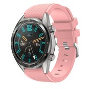 Huawei Watch GT silicone band (roze)
