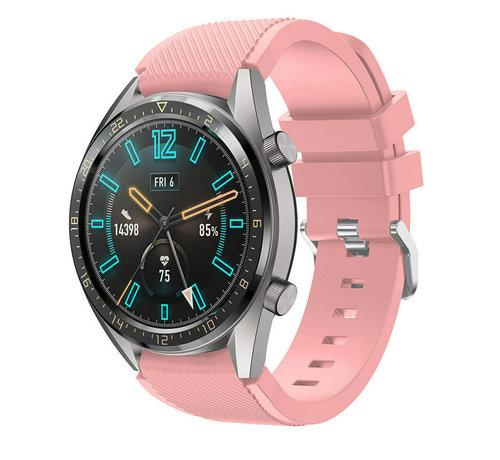 Huawei Watch GT silicone band (roze)