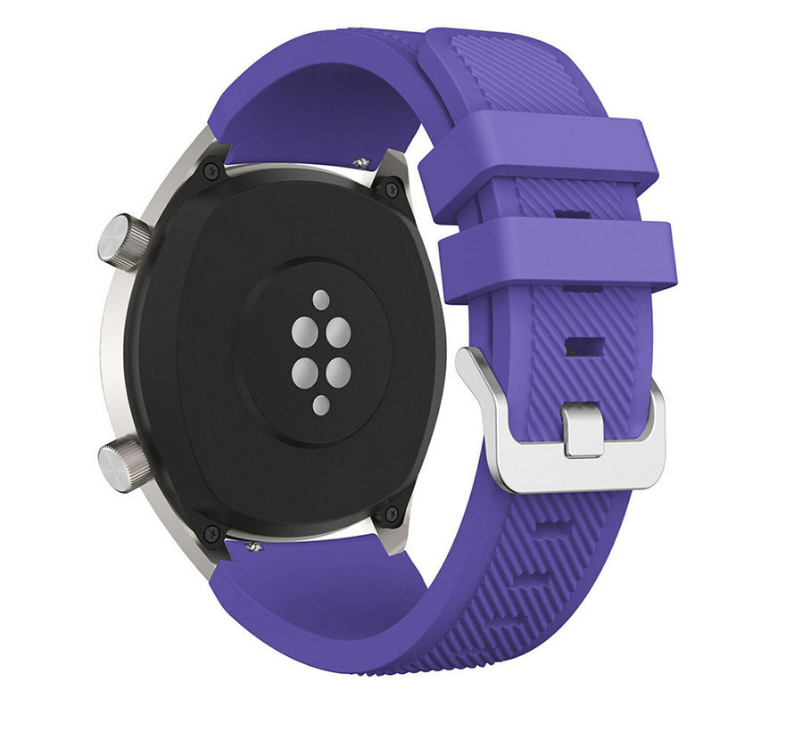 Huawei Watch GT silicone band (paars)