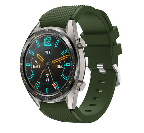 Huawei Watch GT silicone band (legergroen)