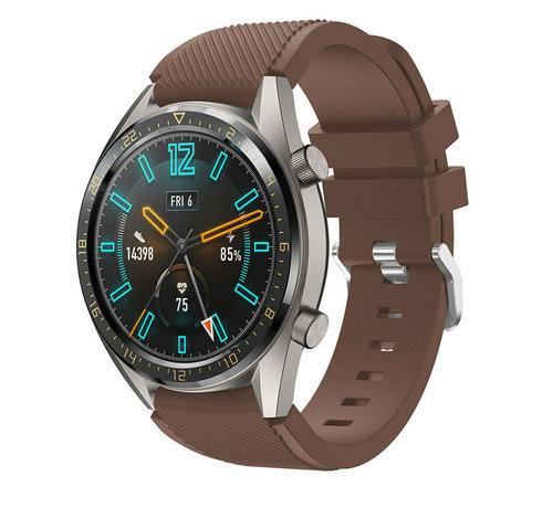 Huawei Watch GT silicone band (koffiebruin)