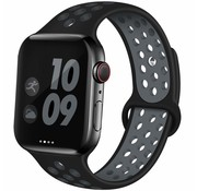 Apple Watch sport+ band (zwart/grijs)