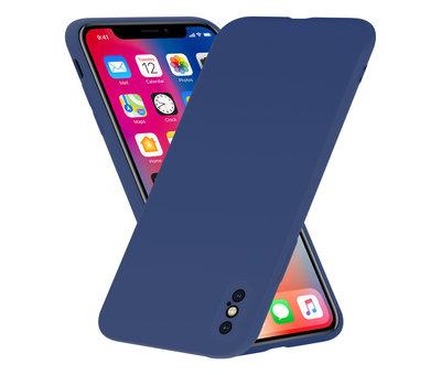 ShieldCase Shieldcase Siliconen hoesje met camera bescherming iPhone X / Xs (blauw)