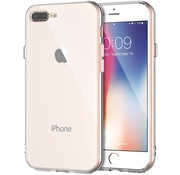 ShieldCase® Siliconen hoesje met camera bescherming iPhone 7 Plus / 8 Plus (transparant)