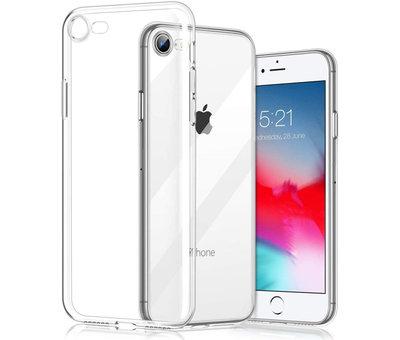 ShieldCase Shieldcase Siliconen hoesje met camera bescherming iPhone SE 2020 (transparant)