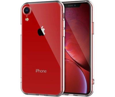 ShieldCase® Shieldcase Siliconen hoesje met camera bescherming iPhone Xr (transparant)