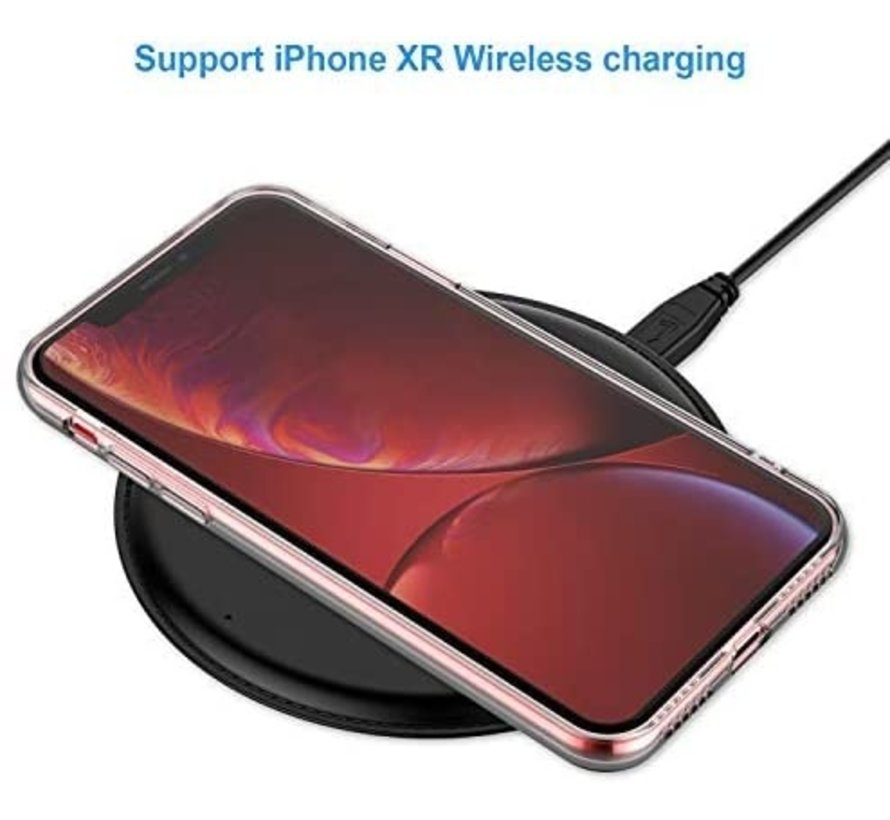 Shieldcase Siliconen hoesje met camera bescherming iPhone Xr (transparant)