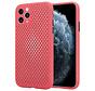 Shieldcase siliconen hoesje met gaatjes iPhone 11 Pro (rood)