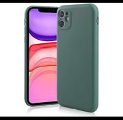 ShieldCase® Siliconen hoesje met camera bescherming iPhone 11 (donkergroen)