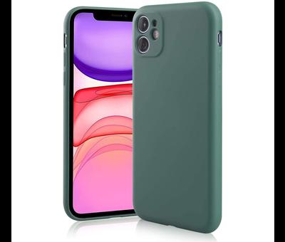 ShieldCase® Shieldcase Siliconen hoesje met camera bescherming iPhone 11 (donkergroen)