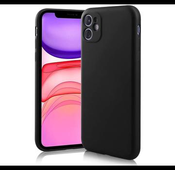 ShieldCase® Siliconen hoesje met camera bescherming iPhone 11 (zwart)