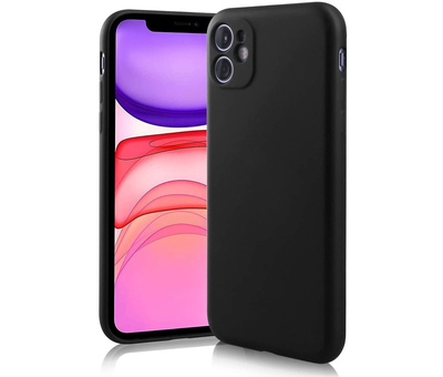 ShieldCase Shieldcase Siliconen hoesje met camera bescherming iPhone 11 (zwart)