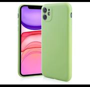 ShieldCase Siliconen hoesje met camera bescherming iPhone 11 (lichtgroen)