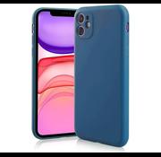ShieldCase Siliconen hoesje met camera bescherming iPhone 11 (blauw)