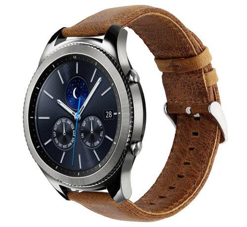 Samsung Gear S3 lederen bandje (bruin)