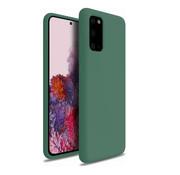 ShieldCase® Silicone case Samsung Galaxy A41 (groen)