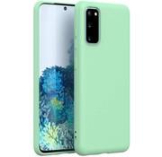 ShieldCase® Silicone case Samsung Galaxy A41 (lichtgroen)