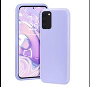 ShieldCase® Silicone case Samsung Galaxy A41 (lichtpaars)