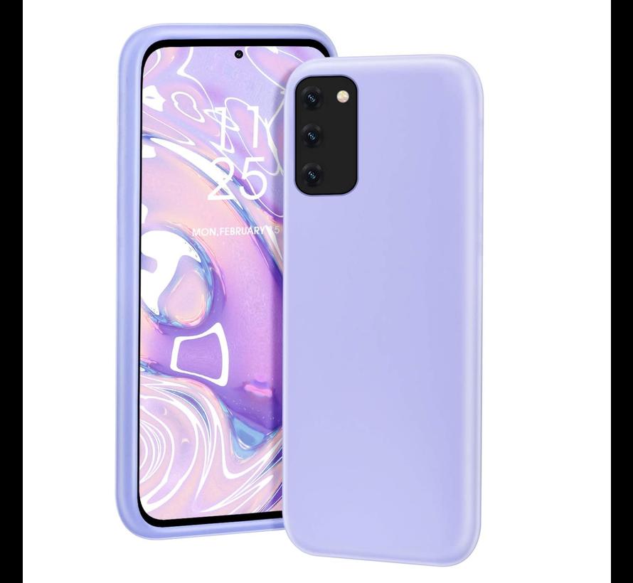 Shieldcase silicone case Samsung Galaxy A41 (lichtpaars)