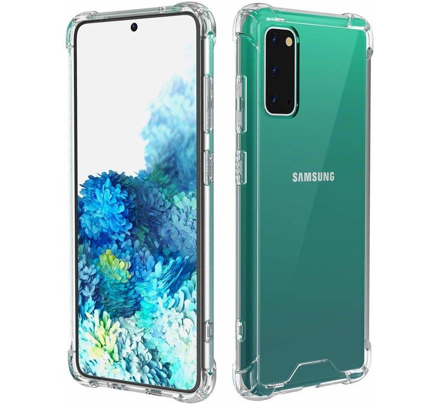 Samsung Galaxy A41 shock case (transparant)