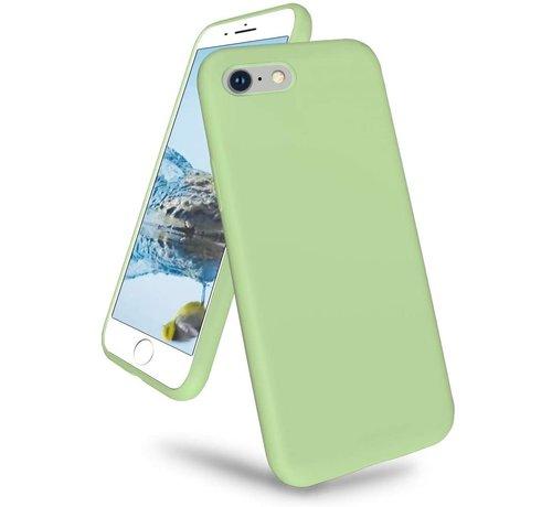 ShieldCase Shieldcase iPhone 7 / iPhone 8 / iPhone SE 2020 hoesje siliconen (lichtgroen)