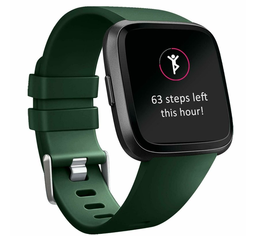 Fitbit Versa silicone band (groen)